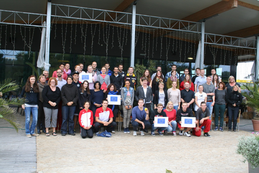 Participants at the 1st European Training