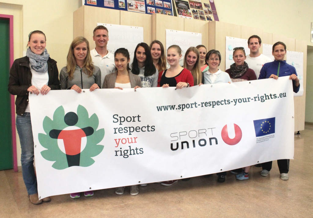 Participants at SPORTUNION Tulln youth workshop 1, May 2014, Tulln, Austria. Photo: Sportunion Tulln